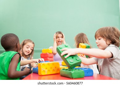 Chaos in the kindergarden