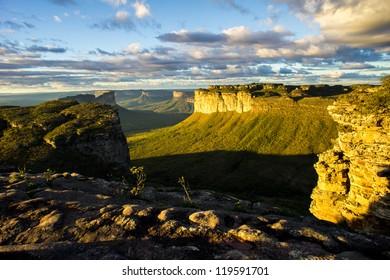 Chapada Mountain in Lencois, Brasil