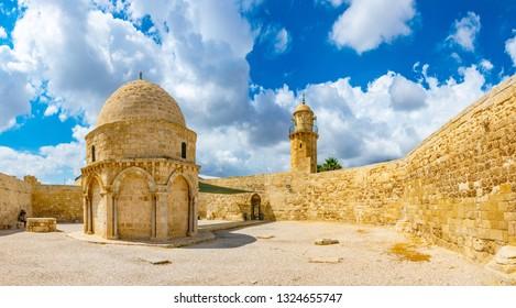 Chapel of Ascension in Jerusalem, Israel