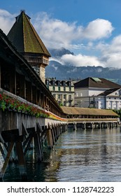 Chapel Bridge I, Lucerne, Switzerland