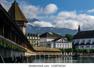 Chapel Bridge II, Lucerne, Switzerland
