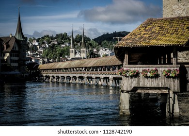Chapel Bridge III, Lucerne, Switzerland