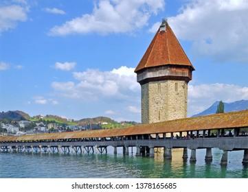 Chapel Bridge, lucerne,switzerland