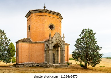 A Chapel built in the second half of the XIX century in Quinciano near Siena, Italy