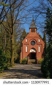 Chapel at the churchyard of St. Simeon and St. Lukas in Berlin-Britz