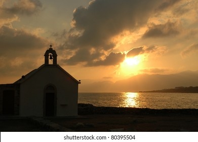 Chapel at Crete, Greece