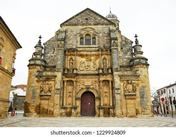 Chapel of the Divine Savior in Ubeda. Renaissance city in the province of Jaén. World heritage site by Unesco. Andalusia, Spain