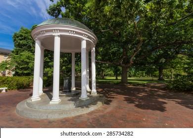 CHAPEL HILL, NC, USA - JUNE 6: Old Well, built in 1897, at the University of North Carolina at Chapel Hill in Chapel Hill, North Carolina, on June 6, 2015 in Chapel Hill, NC, USA.