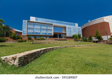CHAPEL HILL, NC, USA - JUNE 6:  Genome Sciences Building at the University of North Carolina at Chapel Hill on June 6, 2015 in Chapel Hill, North Carolina.  Built in 2012.