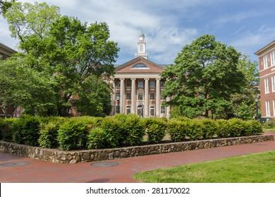 CHAPEL HILL, NC, USA - MAY 19: South Building, built in 1814, at the University of North Carolina at Chapel Hill in Chapel Hill, North Carolina, on May 19, 2015 in Chapel Hill, NC, USA.
