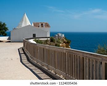 "Chapel ""Igreja de Nossa Senhora da Rocha"", Algarve, Portugal"