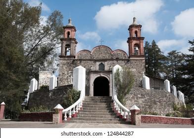Chapel of Jesus del Monte, Tlalpujahua (Mexico)