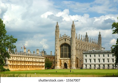 The Chapel of King's College in Cambridge, England. Built by Henry VI.