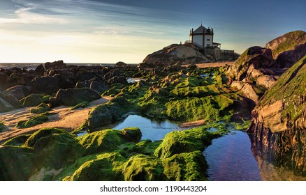 Chapel of the Lord of the Stone in Miramar, Portugal