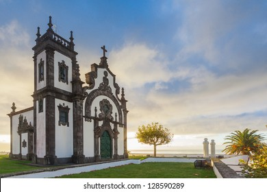 Chapel of Mae de Deus in Ponta Delgada, Sao Miguel, Azores, Early morning.
