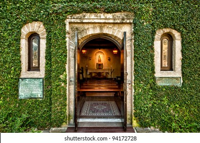 Chapel at the Mission of Nombre de Dios in St. Augustine, Florida