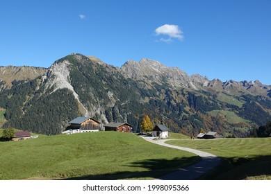 Chapel near Sonntag-Stein in Vorarlberg  - Shutterstock ID 1998095366