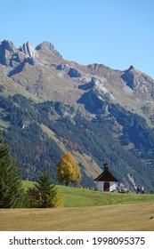 Chapel near Sonntag-Stein in Vorarlberg  - Shutterstock ID 1998095375