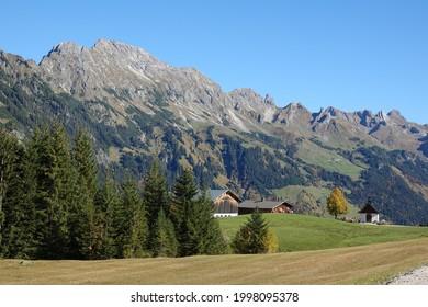 Chapel near Sonntag-Stein in Vorarlberg  - Shutterstock ID 1998095378