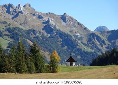 Chapel near Sonntag-Stein in Vorarlberg  - Shutterstock ID 1998095390