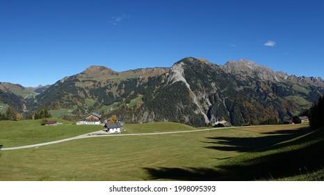 Chapel near Sonntag-Stein in Vorarlberg  - Shutterstock ID 1998095393