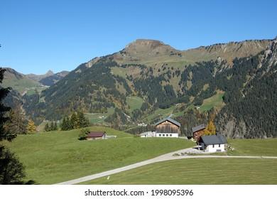 Chapel near Sonntag-Stein in Vorarlberg  - Shutterstock ID 1998095396