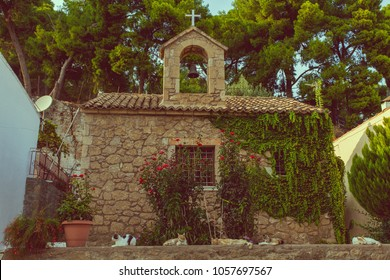 Chapel in the old town of Kalamata, Messinia region, Peloponnese, Greece