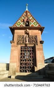 Chapel on the Middle Bridge in Basel, Switzerland