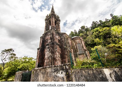 Chapel of Our Lady of Victories is located in Furnas, on the island of Sao Miguel, in the Azores