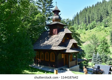 chapel of Saint Hubert in Velke Karlovice,Beskydy mountains Czech republic