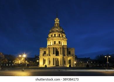 Chapel Saint Louis des Invalides, burial place of Napoleon Bonaparte, Paris, Ile-de-france, France