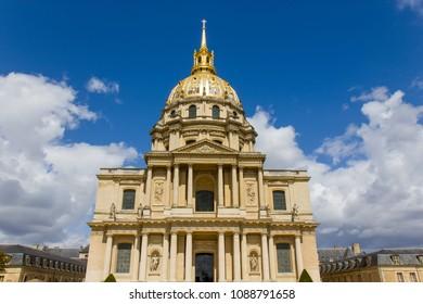Chapel of Saint Louis with dome, Paris, France