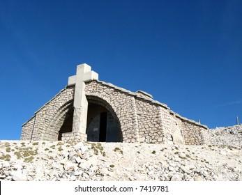 Chapel Sainte Croix of Mount Ventoux, Vaucluse, France