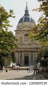 Chapel of Sainte Ursule of Sorbonne University in Latin quartier in Paris in France
