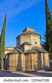 Chapel of Sant Nicolau of Benedictine abbey in Girona, Catalonia, Spain