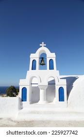 Chapel in Santorini Greece