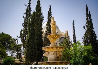 chapel of the shepherd's field in Bethlehem