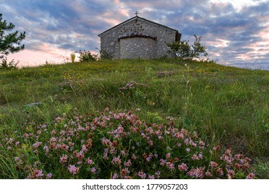 The chapel - somewhere in the depths of the Rhodope Mountains
