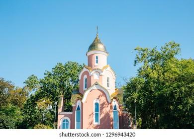 Chapel of St. Andrew in Vladivostok, Russia