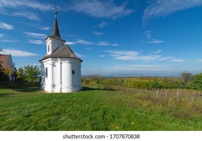 Chapel of St. Donat, Balatonlelle, Kishegy, Hungary.