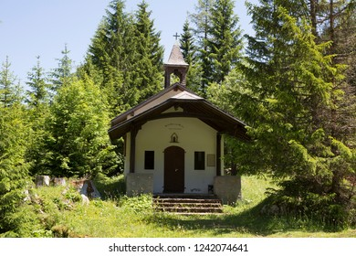 Chapel in Taney (Col de Taney, Vouvry, Switzerland)
