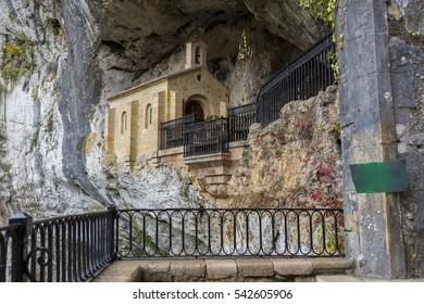 Chapel of the Virgin of Covadonga (Asturias, Spain).
