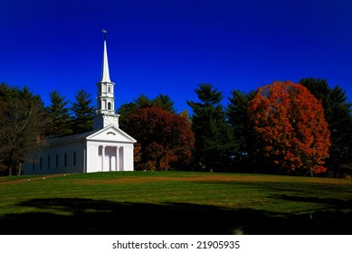 The Chapel at the Wayside Inn in Sudbury, Massachusetts is one of the most historic sites in the Northeast.
