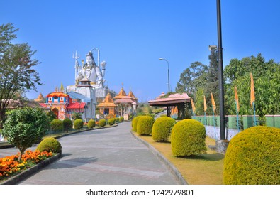 Char Dham temple complex in Namchi.