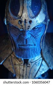 The character of Thanos from the Galaxy Rangers. In the Museum of Film Legends in Prague 30.3.2018.
