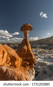 characteristic formation of the Toadstool Hoodoos