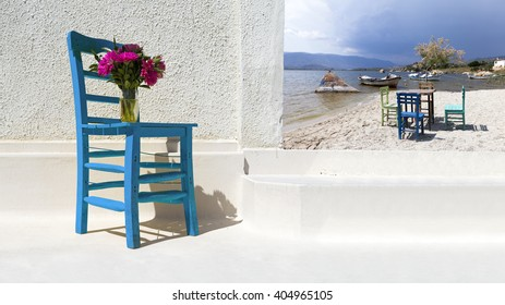 A characteristic view from famous tourism city Bodrum