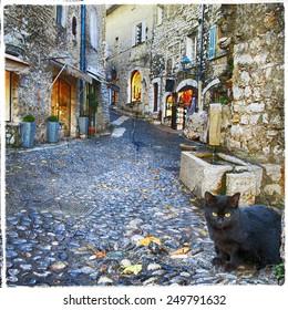 characteristic villages of Provence -St. Paul De Vence