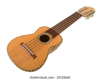 Charango - small 10-stringed guitar-type instrument from Peru
