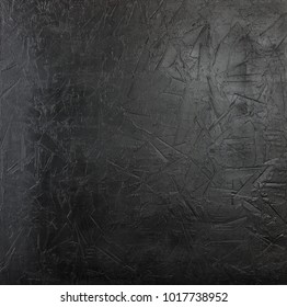 Charcoal black grunge textured Concrete wall background
